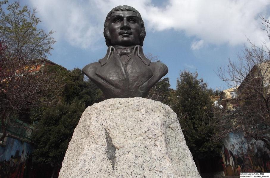 Bono - monumento a g.m. angioy foto di cristoforo puddu